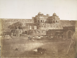 Entrance to the Fort, [Agra].